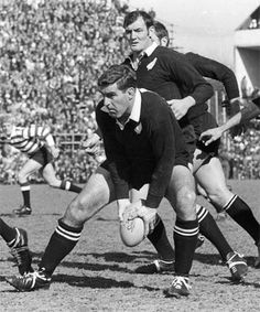 Sir Colin Meads, All Blacks