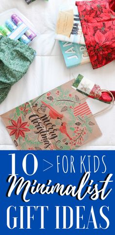 Minimalist Gifts For Kids, 10 great gift ideas for the minimalist family in your life.  Minimalism and Gifts for Kids. Red And Gold Christmas Tree, Christmas Gifts For Kids, All Things Christmas, Minimalist Kids, Minimalist Christmas, Simple Gifts, Easy Gifts, Crafts To Make, Christmas Crafts