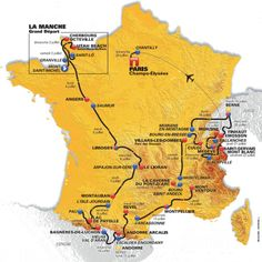 Op zaterdag 2 juli 2016 start de 103e Ronde van Frankrijk op Mont Saint-Michel, een rotseiland even buiten de Normandische kust, dat via een loopbrug met h