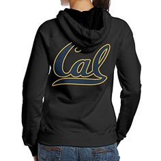 BNBN Womens University Of California Berkeley Cal Logo Hooded Sweatshirt On The Back Size S Black >>> You can get additional details at the image link.(This is an Amazon affiliate link and I receive a commission for the sales)
