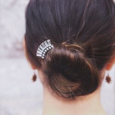 Introducing our vintage-inspired Crystal Baguette Hair Comb. Top the best-tressed list + shop my c+i boutique today!