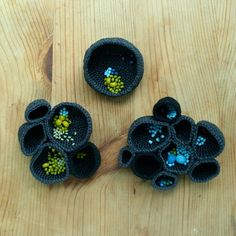 Set of three nest brooches reserved for gofenshefer by ulani