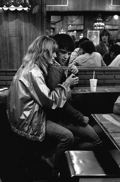 McDonalds, Paris, France, 1981.Photo by Peter Turnley