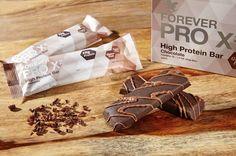 Forever Pro X2 - Chocolate csokoládé ízű fehérjében gazdag szelet édesítőszerrel Cukormentes, gluténmentes. A fehérje hozzájárul az izomtömeg és a normál csontozat fenntartásához, az izomtömeg növeléséhez. #gabokakucko
