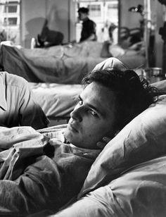 """Marlon Brando in """"The Men"""", 1950."""