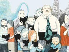 Gloria Fuertes y sus lectores