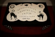 Ouija Board Coffee Table by Christen Shaw, via Flickr