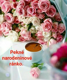 Picture Sharing, Coffee Time, Floral Wreath, Table Decorations, Rose, Ethnic Recipes, Gifs, Spiritual, Creativity