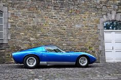 Lamborghini Miura SV - the car that created the template for supercars to come   photo by Nick Fernau