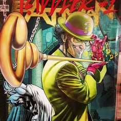 When on earth did the Riddler get his own comic?  Come and find out more at Mutant Mile Comics in the Little Gem at 110 Shirley High Street Southampton two doors down from Iceland and opposite the Precinct.  #superheroes #comics #mutantmilecomics #thelittlegem #shirleyhighstreet #southampton #dc #riddler