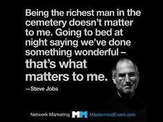 WHAT WE DO MATTERS  Network Marketing is a proven and viable profession. A profession that's helping millions of people get ahead financially and moving them closer to their dreams.  What we as Network Marketers do matters. We help people achieve their dreams. We succeed by helping others succeed. That is something wonderful.