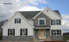 1786 Empress Drive, Mechanicsburg, PA in the Orchard Glen neighborhood. The Falcon model. 4BR, 3BA, 2342 sq. ft., 2-car garage.