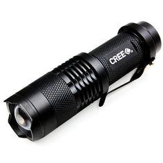 Mini 350 Lumens Cree XML Q5 Flashlight