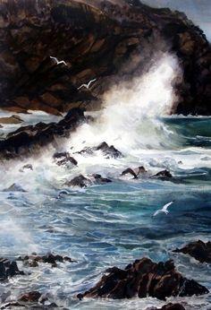 Marilyn Foley - Crashing Sea