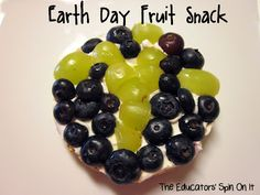 Earth Day Fruit Snack