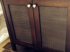 Wire Mesh For Cabinet Doors Cabinet Doors W Speaker