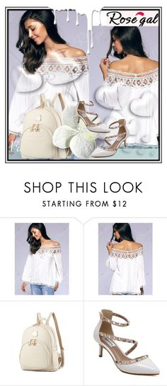 """""""Rosegal  37"""" by dzenanlevic99 ❤ liked on Polyvore featuring Valentino and Nivea"""