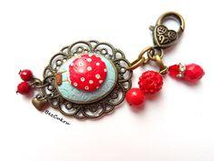 Brelok z Balonem Pełnym Marzeń w BezCukru - biżuteria z charakterem na DaWanda.com