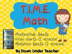 TIME math rotations