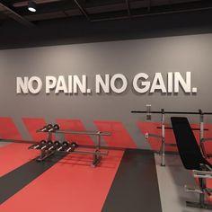 bls blssign&print blssignenprint sign print indoor signing no pain no gain