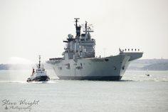 HMS Illustrious 22-7-14 (30) by Jacksonphreak, via Flickr Hms Illustrious, Aircraft Carrier, Royal Navy, Armed Forces, Warfare, Random Things, Nautical, Ships, Military