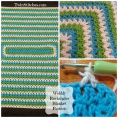 I love a square blanket, but sometimes it is helpful to have your blanket more the shape of a rectangle.  The dc2tog stitch can be used to c...
