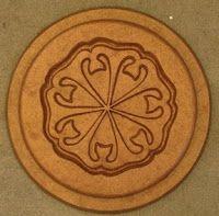 Steiner - Venus Seal - copper Rudolf Steiner, Venus, Sacred Geometry, Holidays And Events, Friday, Design Inspiration, Symbols, Waldorf Education, Stamps