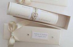 tarjetas de boda elegantes blancas - Buscar con Google