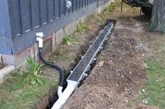 How To Install A French Drain And Surface Trench Diy Installation Step By Instructions With Images