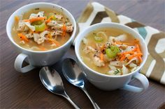 Cutting carbs? Shirataki noodles have no carbs, no fat and hardly any calories. Recipe: Chicken and Shirataki Noodle Soup   Planit Northwest