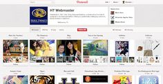 Example of a successful school PINTEREST page