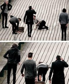 That is just so typical louis, niall is just laughing his head off