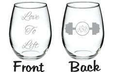 Love to Lift Wine Beer Glass FREE by WulfCreekDesigns on Etsy