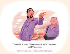 The Big Lebowski | A Pixar Artist Drew Classic R-Rated Film Scenes And Turned Them Into A Children's Book