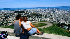 What to do in San Francisco: tips for every taste   Checking it all out from Twin Peaks - San Francisco, California