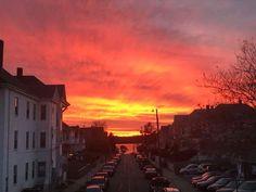 New Bedford Massachusetts Southend sunset