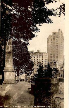 1940 - Obelisco na Ladeira da Memória.