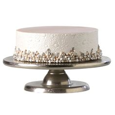 Pearl Single Tier Wedding Cake