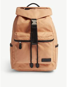 22c1f5433a5 CHARLIE FEIST Kai nylon and vegan leather backpack. KaiLifestyleRugzakken
