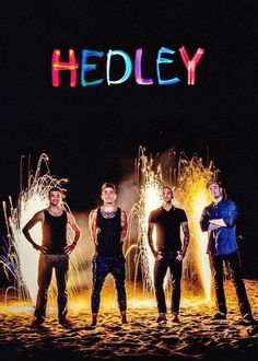 Hedley is probably my # 1 favorite band . I have seen them 3 times in concert and im going to see them on the . Old Music, Music Tv, Music Stuff, Music Bands, Love Band, Cool Bands, Kinds Of Music, Music Is Life, Daniel Stevens