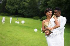 Georgette Eto'o   Il giocatore camerunense Samuel Eto'o e l'ex modella si sono sposati con una cerimonia religiosa e molto romantica a Stezzano, Bergamo. L'abito della sposa era arricchito da fiori 3D e una decorazioni dorata