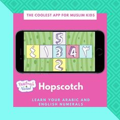 Lets play hopscotch! Learn your numbers! faatimahandahmed app  thehellip