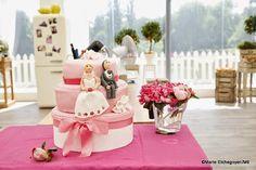 C'est crop bon chez vanille: WEEDING CAKE CHOCOLAT FRUIT DE LA PASSION ROMANTIQUE