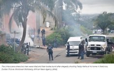 "Authorities are monitoring Shallcross in Durban after alleged drug kingpin Yaganathan ""Teddy Mafia"" Pillay was killed on Monday and two men suspected of his murder were beheaded and their bodies burnt."