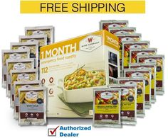Wise 1 Month Emergency Food Supply 112 Servings Camping Survival SUPER SAVER !