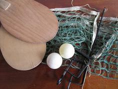 Vintage Homemade Ping Pong Set w/ Crocheted Net!  Crochet, Ping Pong, Home Decor, Antique Toys 1950s Pin Up, Red Rose Tea, Antique Toys, Hand Crochet, Decoration, Old Houses, Red Roses, Craft Supplies, The Incredibles