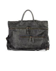 MASTER COAT  Large leather bag