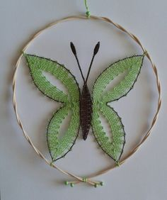 Papillon Bobbin Lacemaking, Lace Making, Bird Feathers, Couture, Crochet, Patches, Arts And Crafts, Butterfly, Brooch