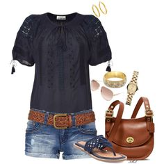 """The Blues"" by tmlstyle on Polyvore"