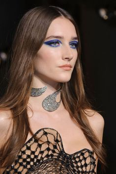 The Best Haute Couture Beauty Looks From Spring 2015 - Atelier Versace - Elle